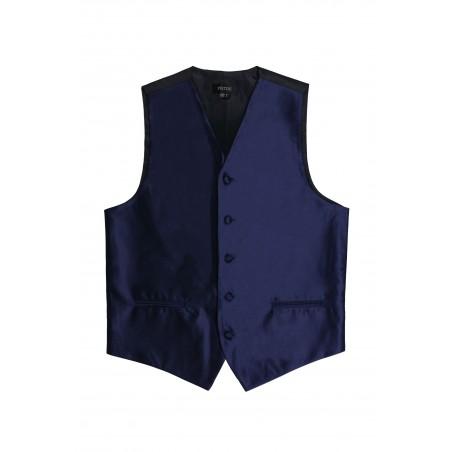 dark navy wedding formal vest mens