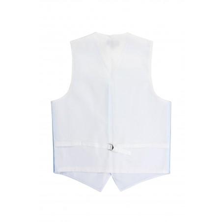 wedding vest in light blue