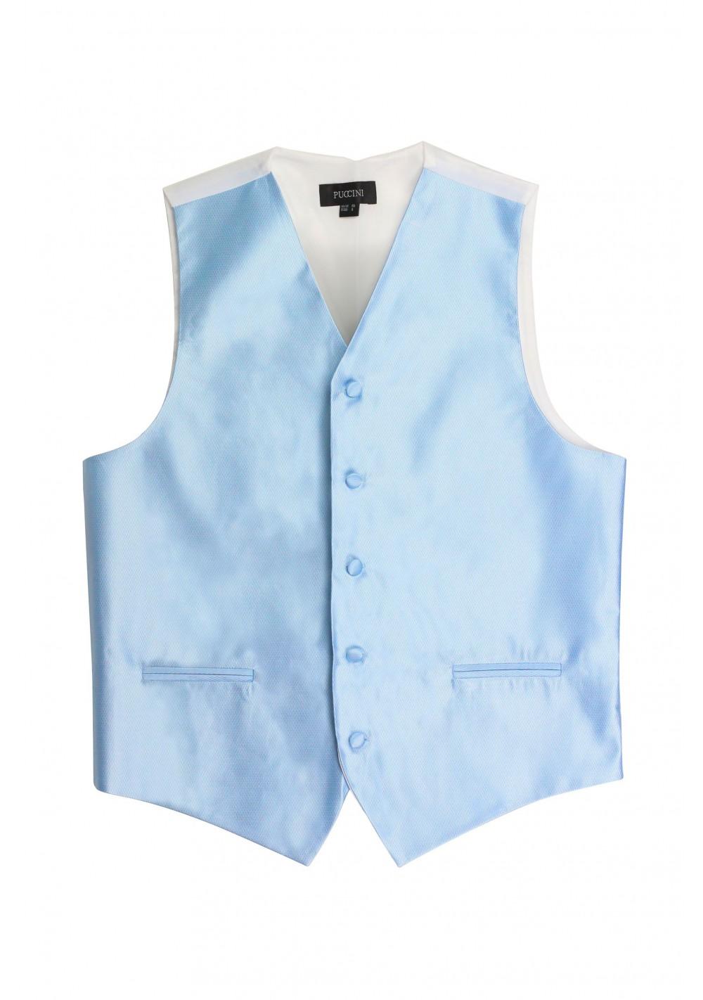 powder blue mens formal vest