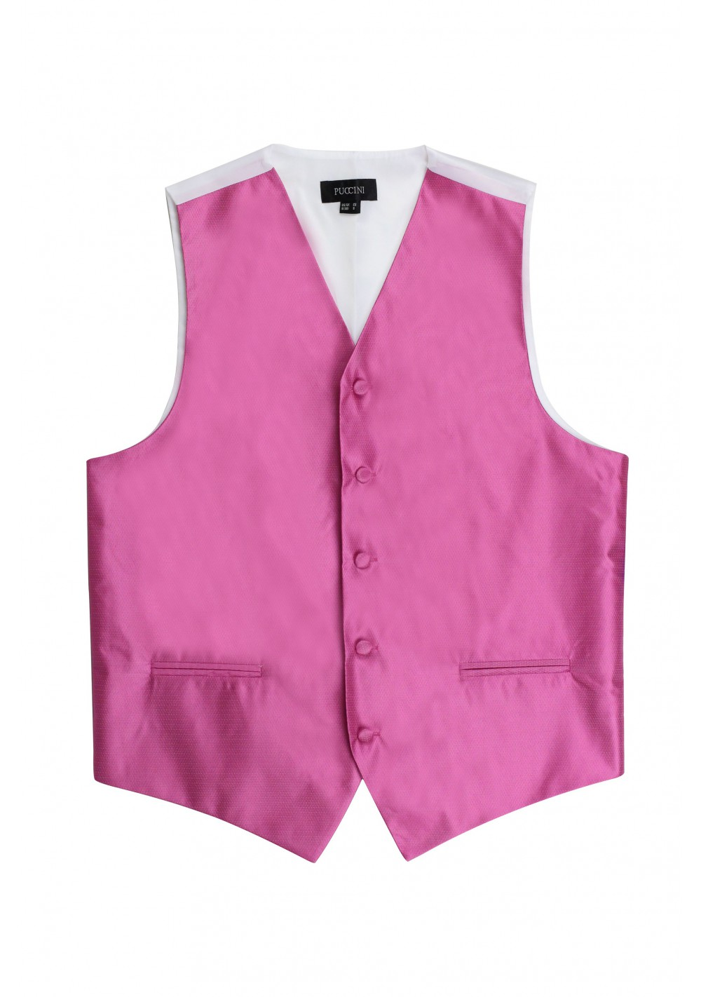 begonia fuchsia pink dress vest men