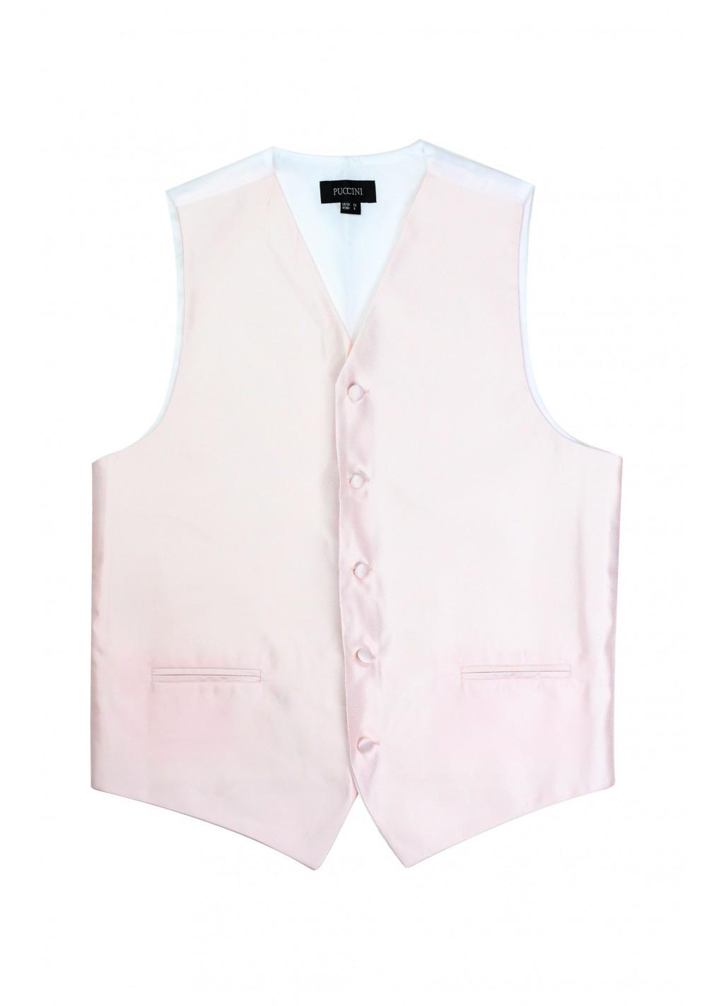 blush pink formal mens vest