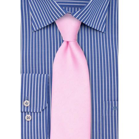 Tickled Pink Spring and Summer Necktie