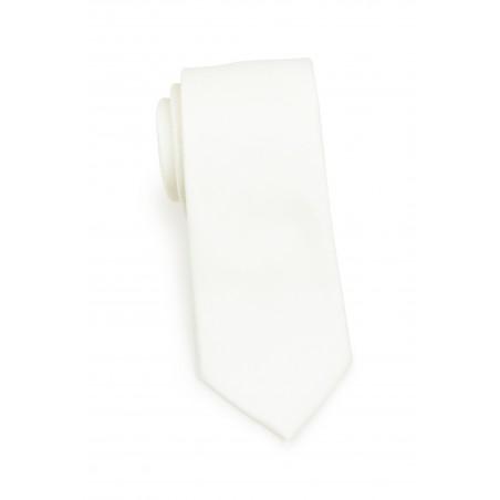 Contemporary Blonde Linen Textured Tie Rolled
