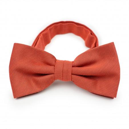 Autumn Bow Tie in Cinnamon
