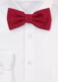 Brilliant Sedona Red Bow Tie
