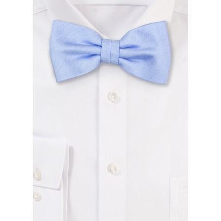 Blue Bird Heather Bow Tie