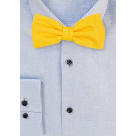 Marigold Mens Bow Tie