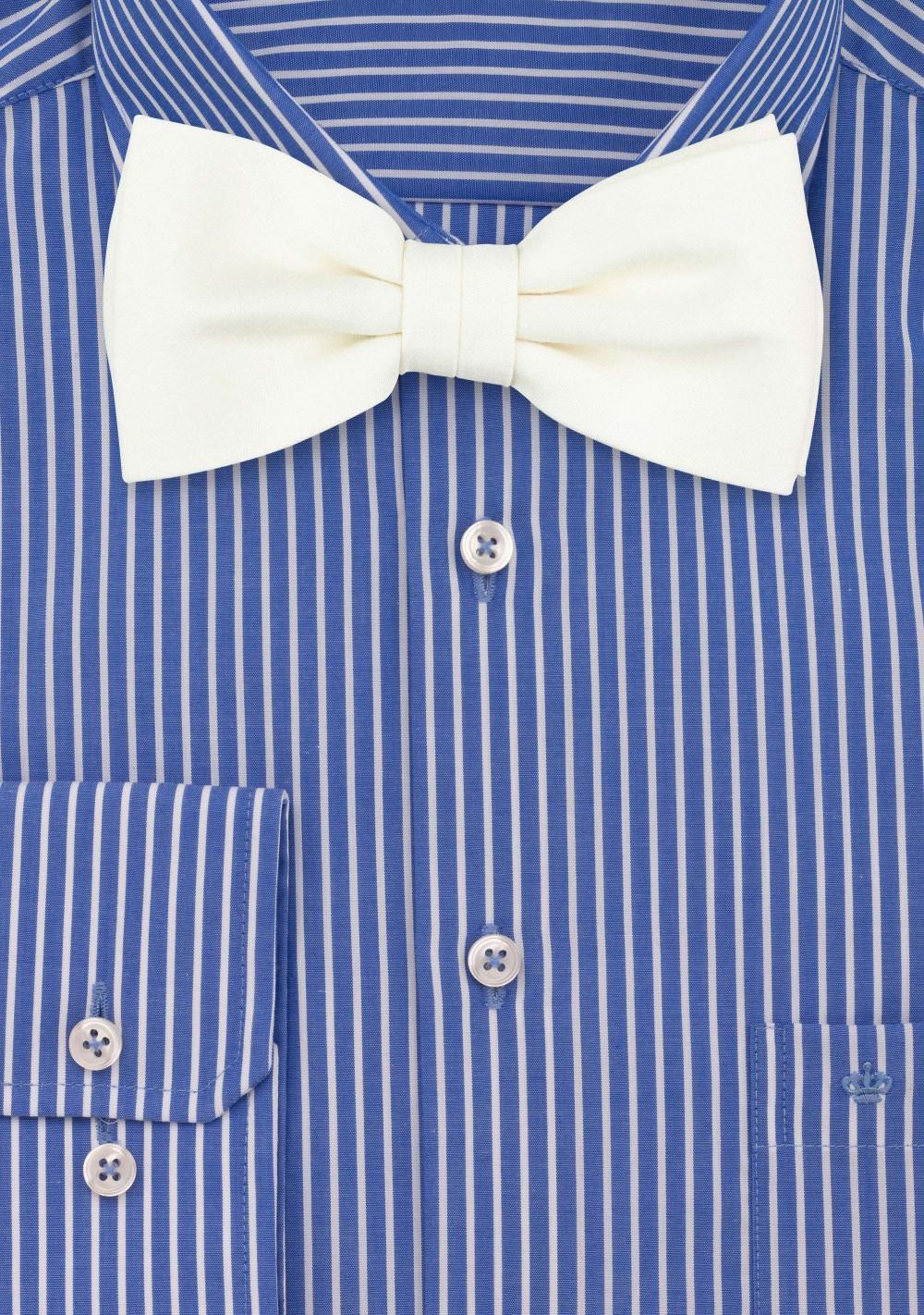 Blonde Bow Tie