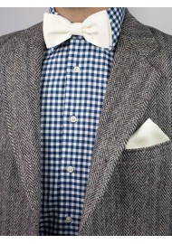 Blonde Bow Tie Styled