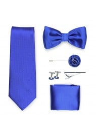 royal blue menswear gift set