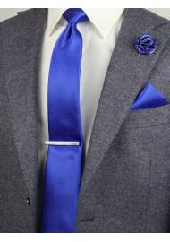 horizon royal blue pin dot tie