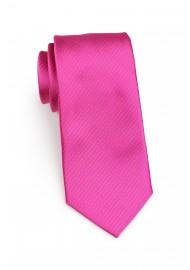 pin dot tie in bright magenta fuchsia pink