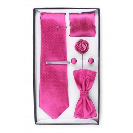 gift set for men in magenta pink