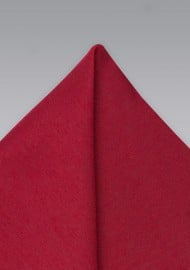 Hanky in Bold Sedona Red
