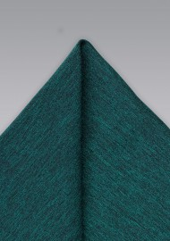 Elegant Gem Green Pocket Square