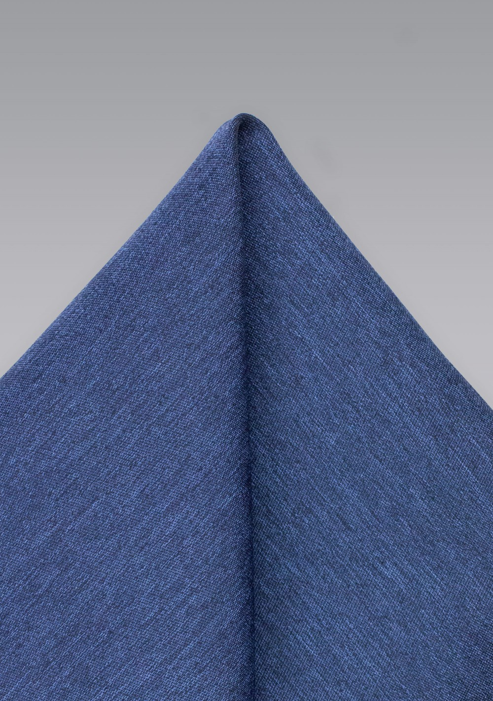 Slate Blue Mens Pocket Square