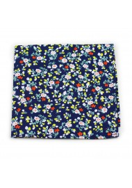 summer cotton hanky with small flower print