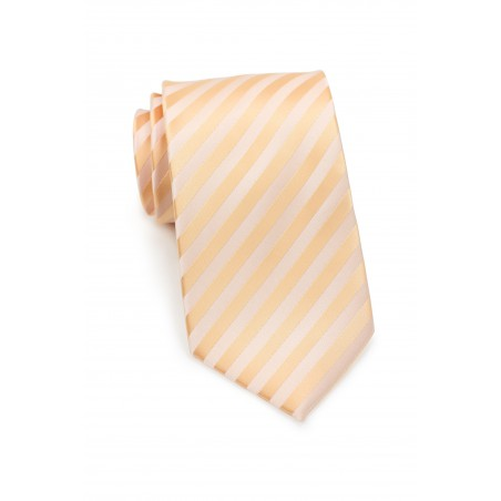 Elegant Kids Tie in Pastel-Peach