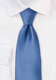 Elegant Blue Necktie in Kids Size