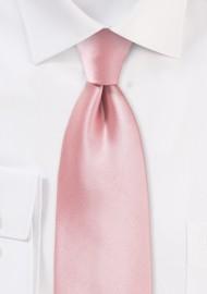 Solid Kids Necktie in Petal...