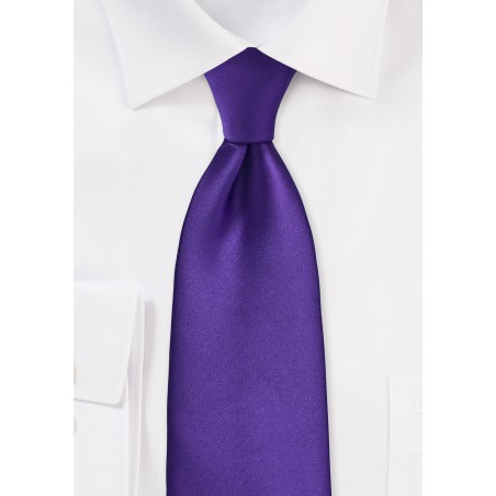 Regency Purple Kids Size Tie