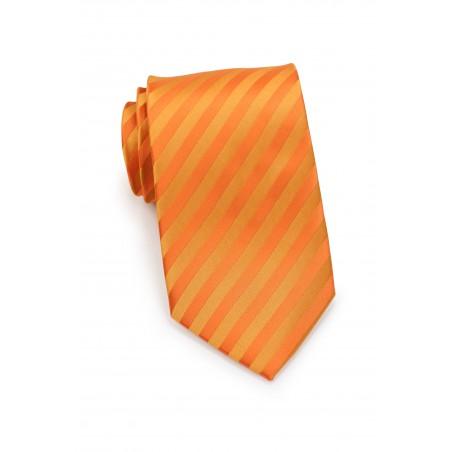 Bright Orange Kids Tie