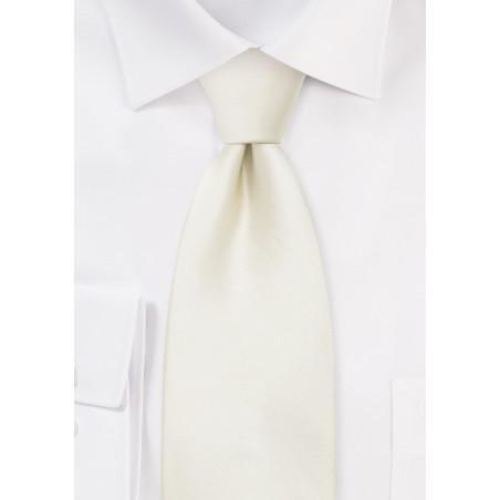 Formal Kids Necktie in Champagne