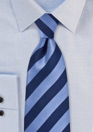 Elegant Navy Tie in Kids Length