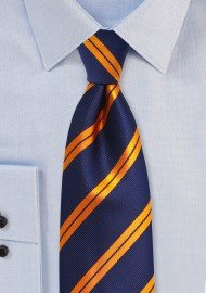 Modern Striped Tie in Kids Size