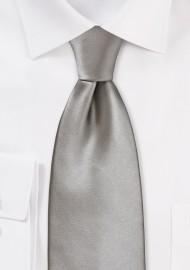 Elegant Solid Silver Tie...