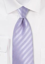 Kids Neck Tie in French Lavender