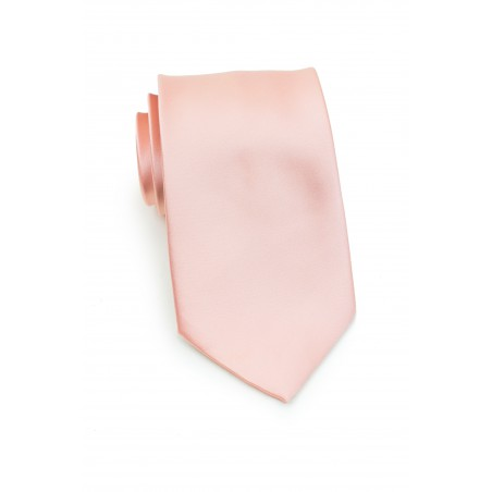 Peach Blush Boys Necktie