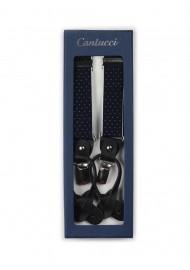 navy mens suspenders Y style back