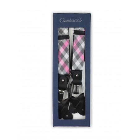 plaid suspenders
