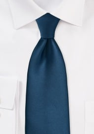 Dark Teal Blue Necktie