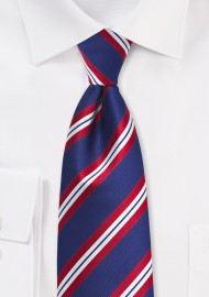 Repp Stripe Necktie for...