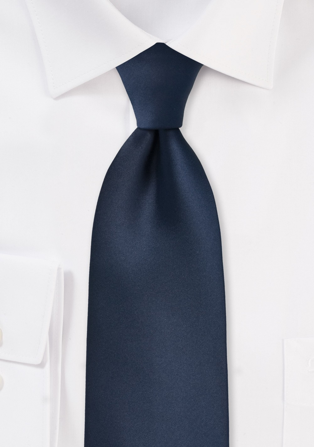Midnight Blue Mens Necktie