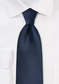 Midnight Blue Kids Length Tie