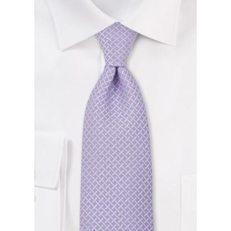 Mauve Colored Mens Tie