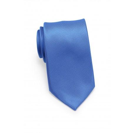 Solid Necktie in Victoria Blue