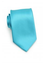 Bright Aqua Blue Kids Necktie