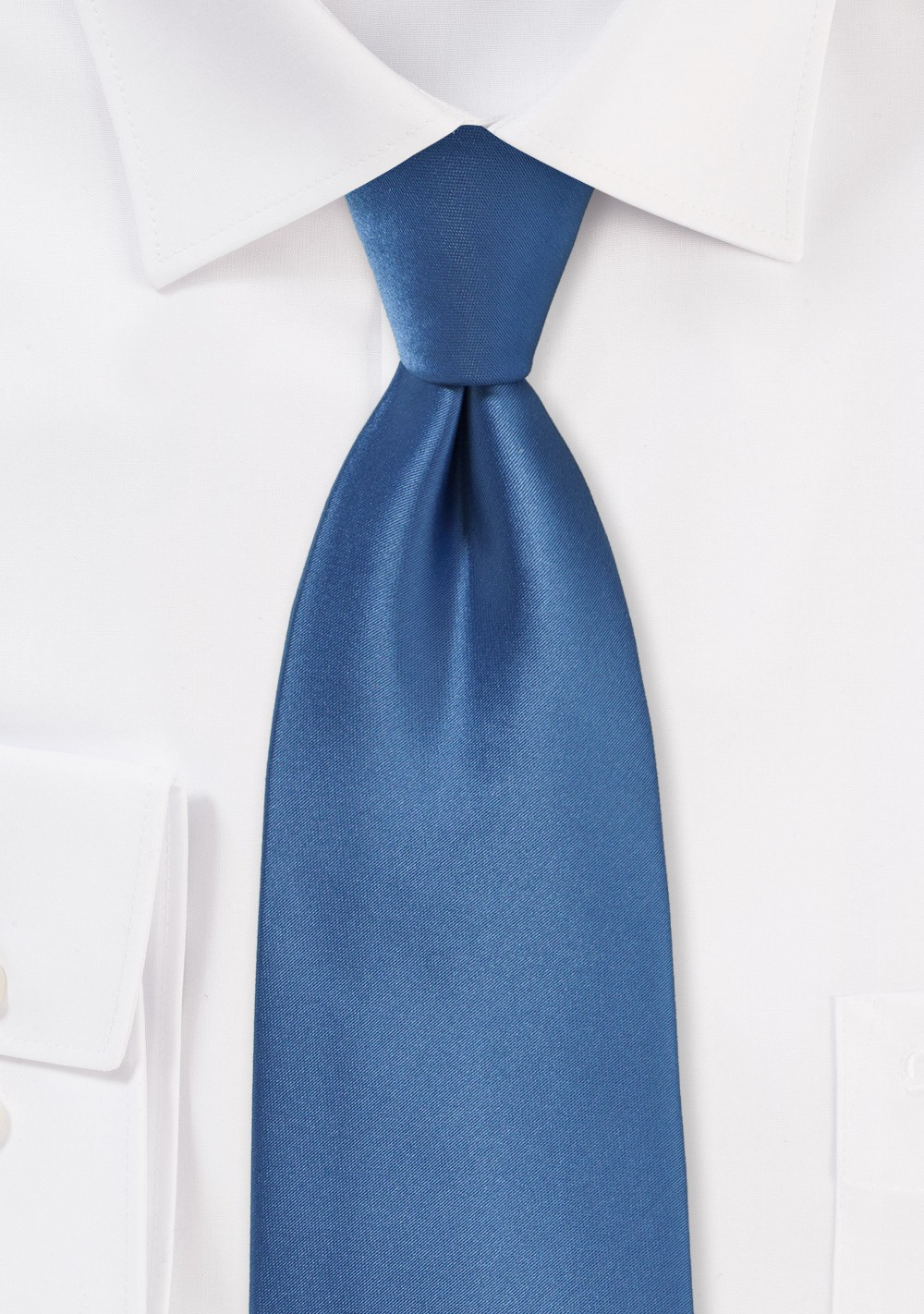 Steel Blue Color Neck Tie
