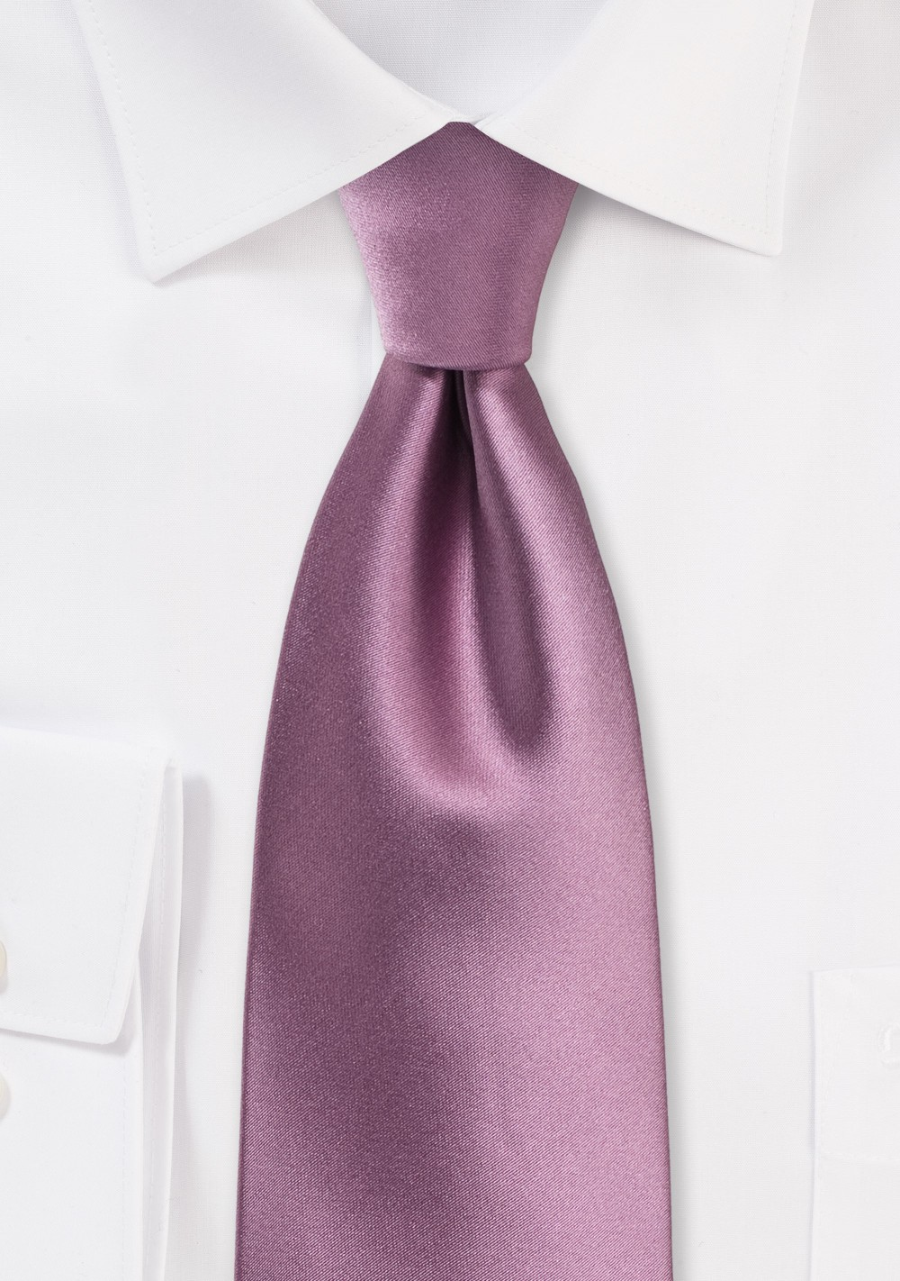 Purple Rose Colored Tie