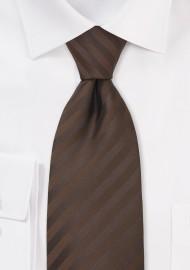 Chocolate Brown Kids Tie