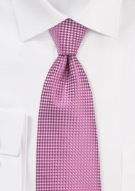 Vibrant Pink Tie for Kids