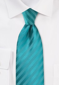 Bright Oasis Striped Necktie