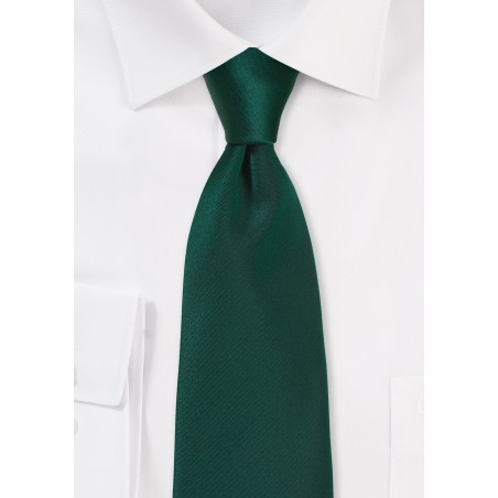 Dark Forest Green Mens Tie