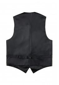 Formalwear Paisley Vest in Bronze Gold Back