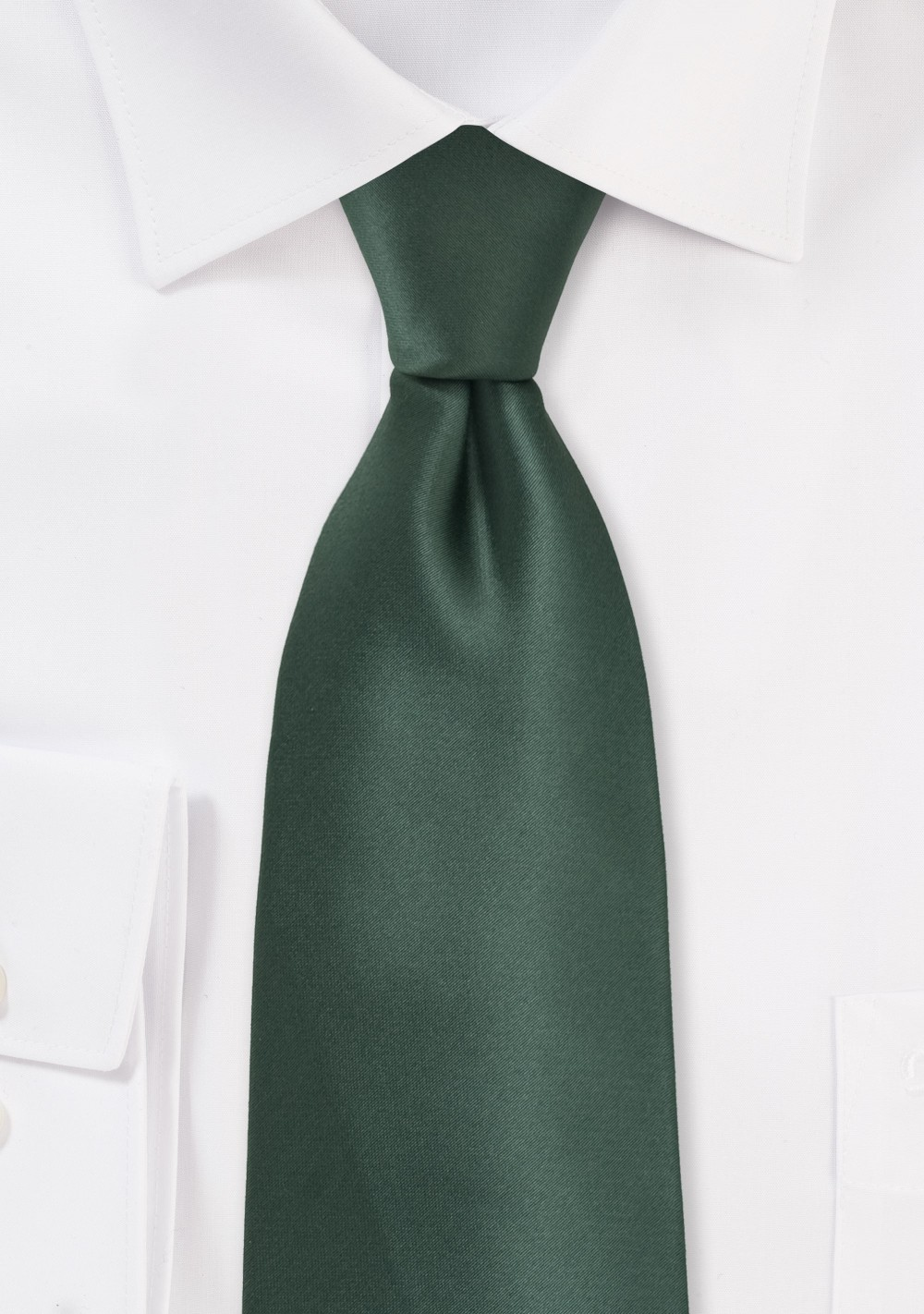 Pine Green Mens Necktie