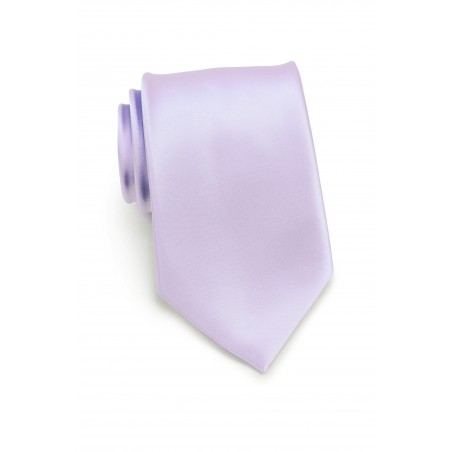 XL Tie in Soft Lavender